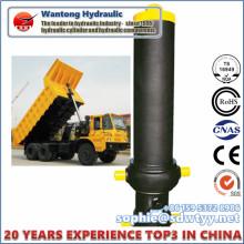 Cilindro hidráulico do óleo de lixo personalizado de qualidade superior para caminhão