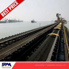 L'industrie minière a utilisé le séparateur de magnetise de ceinture pour le minerai de fer pour la Thaïlande