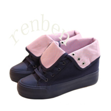 New Hot Footwear Women′s Casual Canvas Shoes
