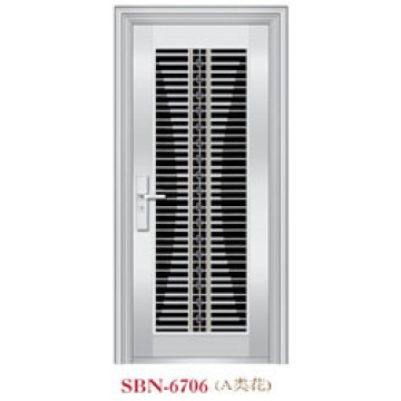 Stainless Steel Door for Outside Sunshine  (SBN-6706)