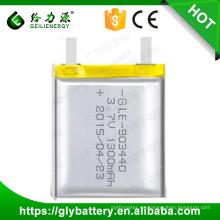 GLE-903440 Recarga 3.7V 1300mAh Batería de polímero de litio