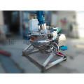Caldera industrial de vapor / camisa eléctrica con agitador