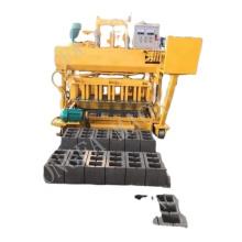 JQM-6A mobile hollow block making machine in dubai