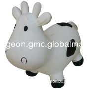 inflatable cow toy/animal toy