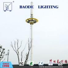 Venda el poste de iluminación de acero galvanizado Q235 de la calle