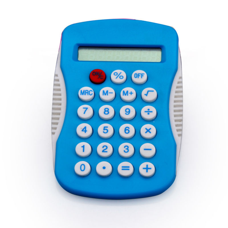 8 Digits Special Item Shape Electronic Pocket Calculator