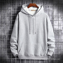 New Couple Printing Student Thick Cotton Solid Color Hoodie