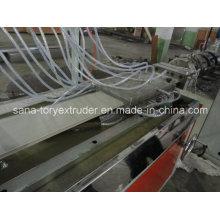Потолочные панели ПВХ Экструзионная линия/пластичная машина профиля