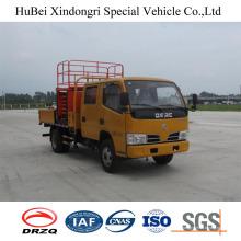 Camión vertical de la plataforma de 10m Dongfeng Euro5 nuevo diseño