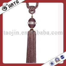 Perles de cristal Cord up Tassel pour le tissu-Home-Decor