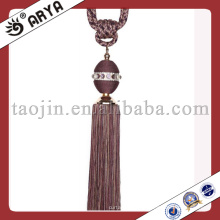Crystal Beads Cord up Tassel para tecido-Home-Decor