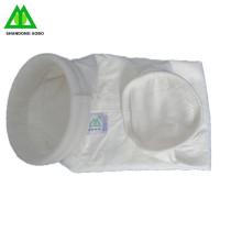 tela de filtro del poliéster del colector del polvo de la planta del cemento