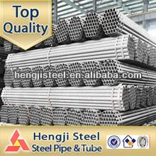 La meilleure qualité astm a53 sch40 tuyau en acier galvanisé à chaud