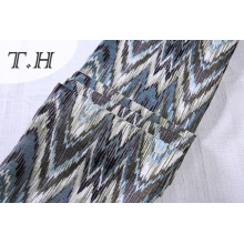 Обивка Жаккардовая ткань Пилообразной шаблон диван ткань (FTH32138)