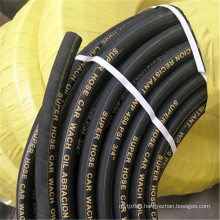 Factory price 10 bar EPDM black 1 inch rubber water hose pipe