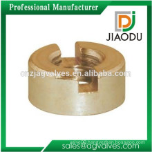 High quality forged m8 4 5 6 threaded copper high pressure nut brass lead free knurled brass slotted insert nut