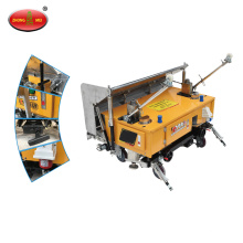 Building tools wall cement rendering machine