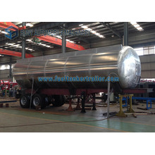 Syrup Transportation Tank Truck Trailer 45 M3 Aluminum Tipping Tanker Trailer