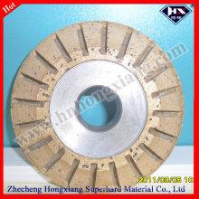 Алмазный шлифовальный круг / периферийное сегментированное V-колесо