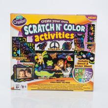 Scratch Art Color Activites Handwerk