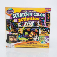 Scratch Art Colour Activites Crafts