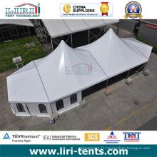 Tente en aluminium de crête en aluminium 20X30 avec les parois latérales claires de fenêtre de PVC à vendre