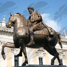Berühmte Pferdestatue Rom Italien (fertigen Sie, ist verfügbar) besonders an C