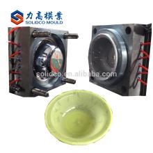 Molde de inyección de lavabo de baño de lavabo de plástico