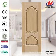 JHK-M02 Рельефная штампованная 16 мм Твердая глубина 17мм Белый дуб Настраиваемая дверная панель