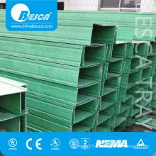 Popular Besca Fiberglass Reinforced Plastics FRP/GRP Cable Trunking Supplier