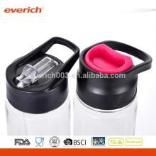 2016 Garrafa de água de plástico barata com infusor de frutas