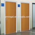 Interior Aluminum frame hospital Wood doors