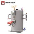 Chaudière verticale de générateur de vapeur d'huile de soute de 0,1 tonne à 1 tonne