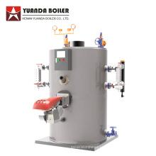 0.1ton-1ton вертикальный котел парогенератора масла бункера