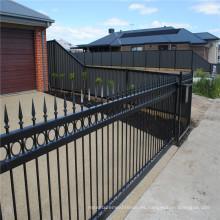 valla compuesta del metal del panel de la cerca del jardín de aluminio
