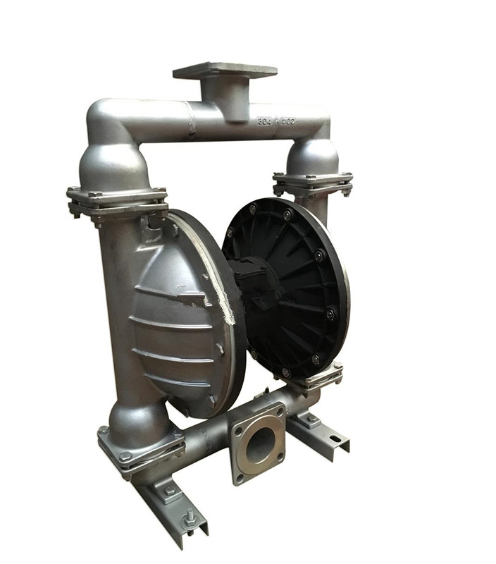QBY stainless steel pneumatic diaphragm pump 1