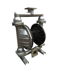 QBY+stainless+steel+pneumatic+diaphragm+pump