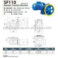 Máquina de tração elevatória (Geared), Tractor elevador, Máquina elevadora