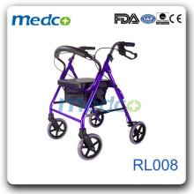 Foldable rollator for elderly person RL008