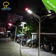 Bom desempenho preço de custo tudo em uma luz de rua conduzida solar