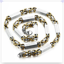 Fashion Jewelry Fashion Necklace Chaîne en acier inoxydable (SH057)