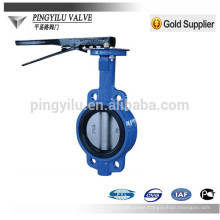 russia cast iron center line wafer butterfly valve for 2014 hot sale