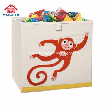 Boîte de rangement pliante en plastique bacs de rangement pour jouets