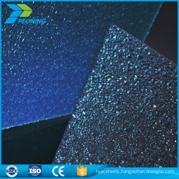 Quality assured heatproof 10mm polycarbonate greenhouse pc solid sheet