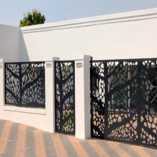 Laser Cut Aluminium Fence Gate