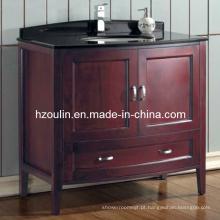 Vaidade de madeira clássica do banheiro (BA-1109)