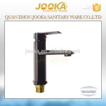 Mezclador de lavabo de diseño clásico negro