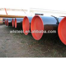 api 5l x52 / x42 / gr.b densidade de tubo de aço carbono