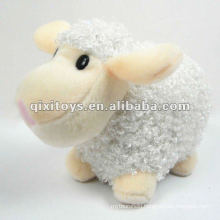 lovely mini stuffed and plush white sheep toy