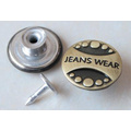 Silver Moving Jeans Buttons B291